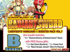 Cardfight Vanguard G-BT07 Bundle (B) - Get x4 Glorious Bravery of Radiant Sword Booster Box + FREE Bonuses