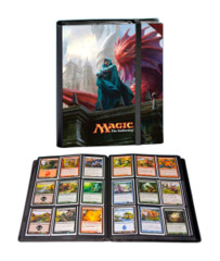 Magic the Gathering Return to Ravnica 9 Pocket Portfolio Album - Jace, Architect of Thought & Niv-Mizzet, Dracogenius