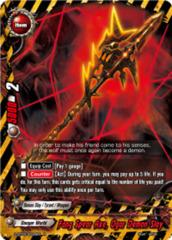 Fang Spear Axe, Ogar Demon Slay [D-BT03/0030EN R (FOIL)] English