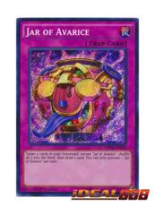 Jar of Avarice - MP16-EN033 - Secret Rare - 1st Edition