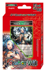 A02 Pricia, the Beast Lady (English) Force of Will Wind Starter Deck