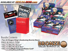 CFV-G-BT12  Bundle (A) Bronze - Get x2 Dragon King's Awakening Booster Box + FREE Bonus Items