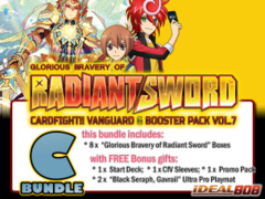 Cardfight Vanguard G-BT07 Bundle (C) - Get x8 Glorious Bravery of Radiant Sword Booster Box + FREE Bonuses