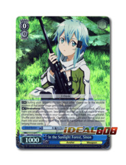In the Sunlight Forest, Sinon [SAO/SE23-E19 R (FOIL)] English