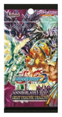 BFE-D-BT03 Annihilate! Great Demonic Dragon!! (English) Future Card Buddyfight Booster Pack