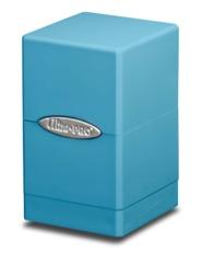 Ultra Pro Satin Tower Deck Box - Light/Sky Blue (#84180)