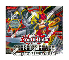 Yugioh Order of Chaos Complete 113-Card Set (1st Edition TCG Release)