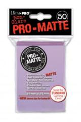 Ultra Pro Matte Non-Glare Large Sleeves 50ct. - Lilac (#84504)