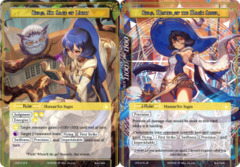 Zero, Six Sage of Light // Zero, Master of the Magic Saber [CFC-015 R (Textured Foil Ruler)] English