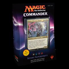Commander 2016: Invent Superiority (White/Blue/Black/Red)