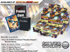 FC-Buddyfight X-BT03 Bundle (B) Silver - Get x4 Overturn! Thunder Empire! Booster Box + FREE Bonus Items * Ships Oct.20