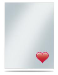 Ultra Pro Large Oversleeve 50ct. - Emoji Heart (#84750)