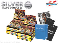 FC-Buddyfight D-CBT01 Bundle (B) Silver - Get x4 Dragon Fighters Climax Booster Box + FREE Bonus