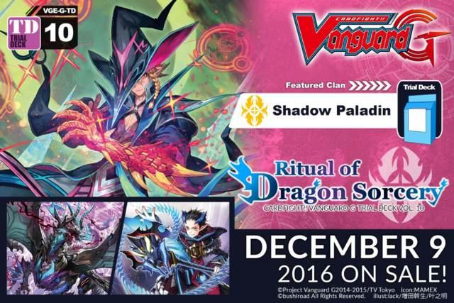 CFV-G-TD10 Ritual of Dragon Sorcery (English) G-Trial Deck * PRE-ORDER Ships Dec.9