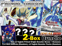 Yugioh PRIO Bundle (A) - Get x2 Primal Origin Booster Boxes Plus Bonus (Sleeve and Booster Packs) * Pre-Order Ships May 16, 2014 on Ideal808