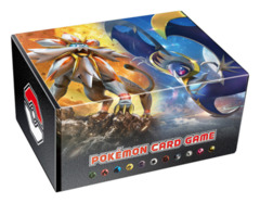 Pokemon Sun & Moon - Storage Box - Solgaleo & Lunanla (includes 54 Basic Energy Cards) [#190600]