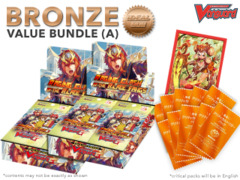Cardfight Vanguard G-BT10 Bundle (A) Bronze - Get x2 Raging Clash of the Blade Fangs Booster Box + FREE Bonus Items * Apr.14