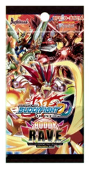 BFE-D-BT01A Buddy Rave (English) Future Card Buddyfight Alternate Booster Pack