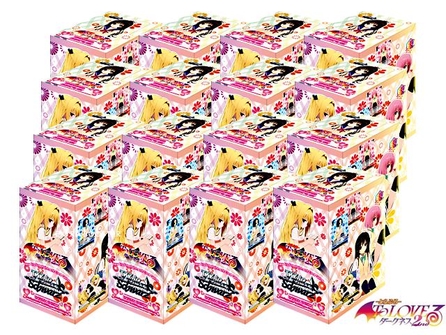 To Loveru Darkness 2nd (English) Weiss Schwarz Booster  Case (16 Boxes)