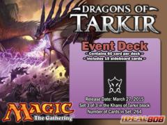 Dragons of Tarkir (DTK) Event Deck