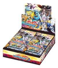 BFE-D-BT02A Four Dimensions (English) Future Card Buddyfight Alternate Booster Box