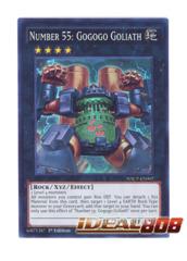 Number 55: Gogogo Goliath - WSUP-EN007 - Super Rare - 1st Edition