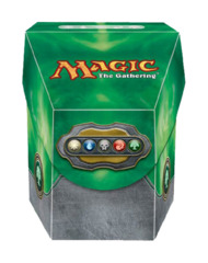 Magic the Gathering Commander Deck Box - Mana Green on Ideal808