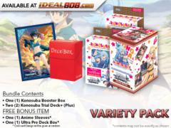 Weiss Schwarz KS Variety Pack - Get x1 Konosuba Booster Box & x2 Trial Decks + FREE Bonus * PRE-ORDER Ships Aug.25
