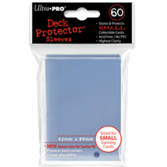 Ultra Pro Small Sleeves 60ct. - Clear