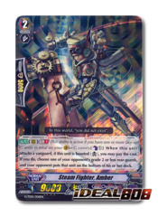 Steam Fighter, Amber - G-TD01/006EN - RRR (Foil ver.)