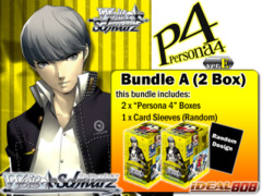 Weiss Schwarz Bundle (A) - Get x2 Persona 4 ver.E Booster Boxes + FREE Bonus (Sleeves) on Ideal808
