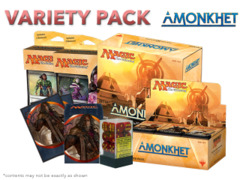 MTGAKH Variety Pack - Get x1 Amonkhet Booster Box; x1 Bundle; & 1 Planeswalker Deck Set + FREE Bonus