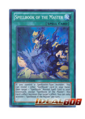 Spellbook of the Master - CT10 - EN014 - Super Rare - Limited Edition