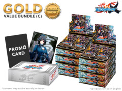 FC-Buddyfight X-BT01 Bundle (C) Gold - Get x8 The Dark Lord's Rebirth! Booster Box + FREE Bonus * PRE-ORDER Ships Apr.21