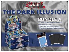 Yugioh TDIL Bundle (A) - Get x2 The Dark Illusion Booster Boxes + FREE Bonus Items (See Description)