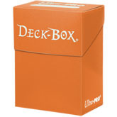 Ultra Pro Deck Box - Orange (#82478)
