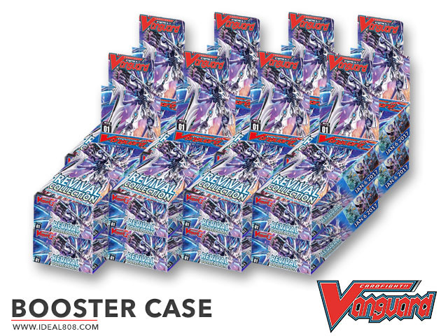 CFV-G-RC01 Revival Collection (English) Cardfight Vanguard G Booster  Case (16 Boxes)