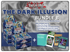 Yugioh TDIL Bundle (B) - Get x4 The Dark Illusion Booster Boxes + FREE Bonus Items (See Description)