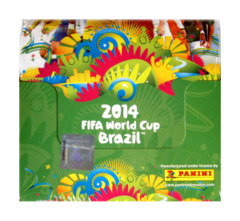 Panini Adrenalyn 2014 FIFA World Cup Brazil Booster Box [Official Soccer Trading Card Game] on Ideal808