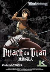 Weiss Schwarz Attack on Titan (English) Weiss Schwarz Booster Pack