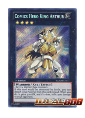 Comics Hero King Arthur - NUMH-EN041 - Secret Rare - Unlimited