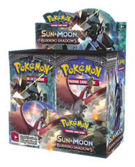SM Sun & Moon - Burning Shadows (SM03) Pokemon Booster Box * PRE-ORDER Ships Aug.4