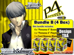 Weiss Schwarz Bundle (B) - Get x4 Persona 4 ver.E Booster Boxes + FREE Bonus (Playmat & Sleeves) on Ideal808