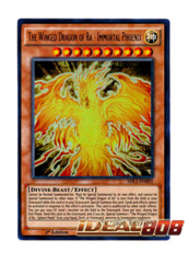 The Winged Dragon of Ra - Immortal Phoenix - MIL1-EN001 - Ultra Rare - 1st Edition