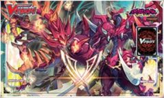 Case Topper Promo Playmat - [Perdition Dragon, Dragonic Neoflame & Emperor, Dragonic Overlord the Great] BT17 Blazing Perdition
