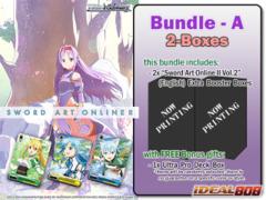 Weiss Schwarz SAOII Bundle (A) - Get x2 Sword Art Online II Vol.2 Extra Booster Boxes + FREE Bonus Items * PRE Ships May.27