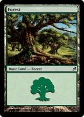Forest (299) - Foil on Ideal808