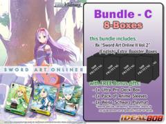 Weiss Schwarz SAOII Bundle (C) - Get x8 Sword Art Online II Vol.2 Extra Booster Boxes + FREE Bonus Items * PRE Ships May.27