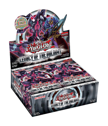 Legacy of the Valiant Booster Box (1st Edition)