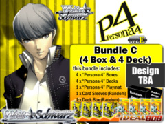 Weiss Schwarz Bundle (C) - Get x4 Persona 4 ver.E Booster Boxes & x4 Trial Decks + FREE Bonus (Playmat & Deck Box) on Ideal808